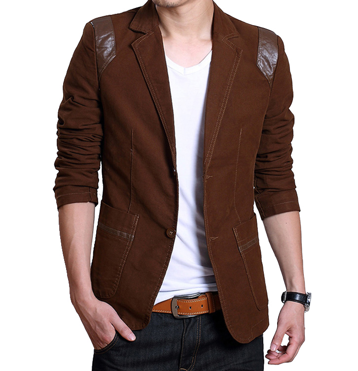 Casual Brown Blazer