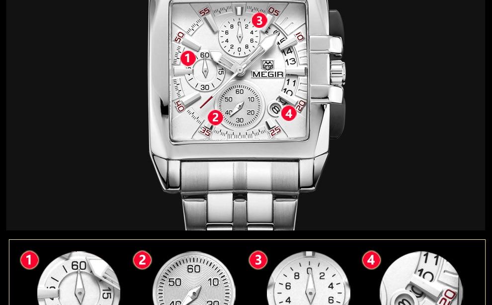 2018-En_09  MEGIR Males's Large Dial Luxurious Prime Model Quartz Wristwatches Artistic Enterprise Stainless Metal Sports activities Watches Males Relogio Masculino HTB1vEc8u dYBeNkSmLyq6xfnVXap