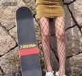 Женские черные леггинсы в стиле Харадзюку - фото