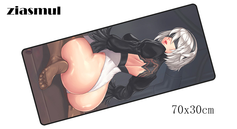 NieR Automata padmouse 700x300mm pad to mouse notbook computer mousepad locked edge gaming mouse pad gamer to laptop mouse mats