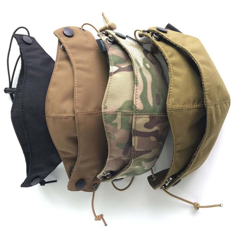 Cordura Half Face Mask Tactical Protective Gear Camouflage Multicam Mask Training Cycling Masks Face Cover Free Shipping