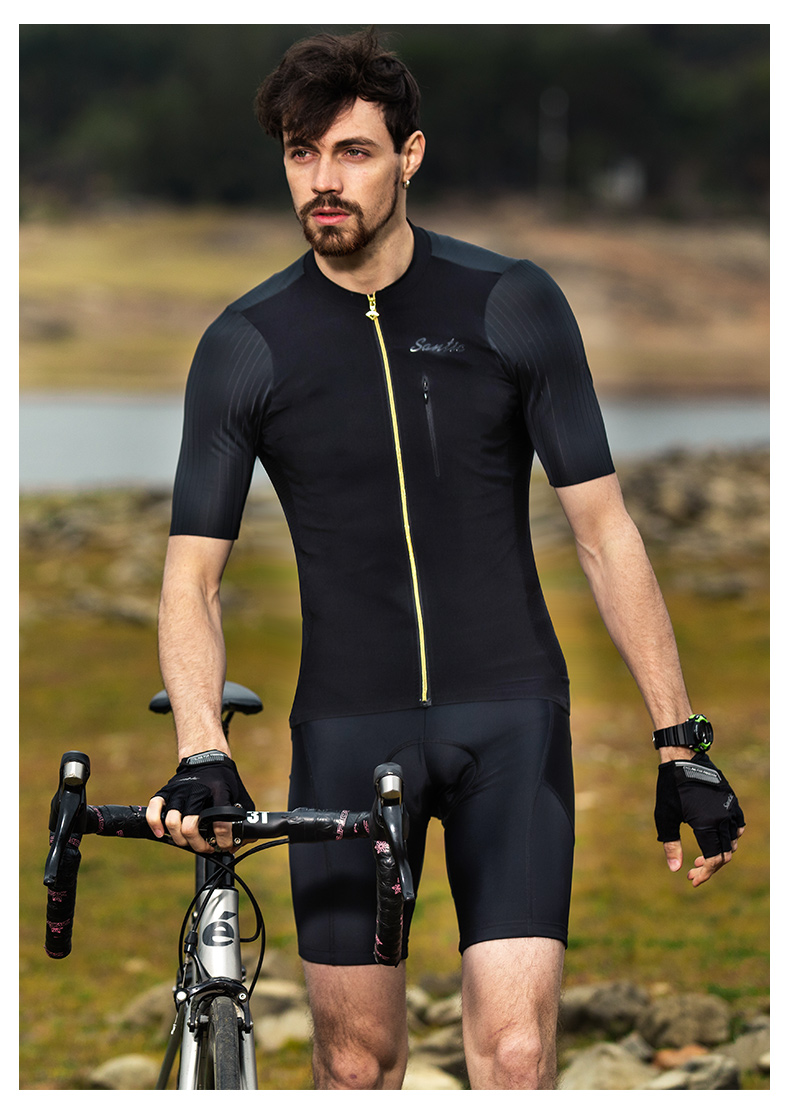 2018 SANTIC Cycling Jersey Men Bike Short Sleeve Maillot Ciclismo MTB Bycicle Clothing Men's Downhill Cycling Top Tops Jersey (14)