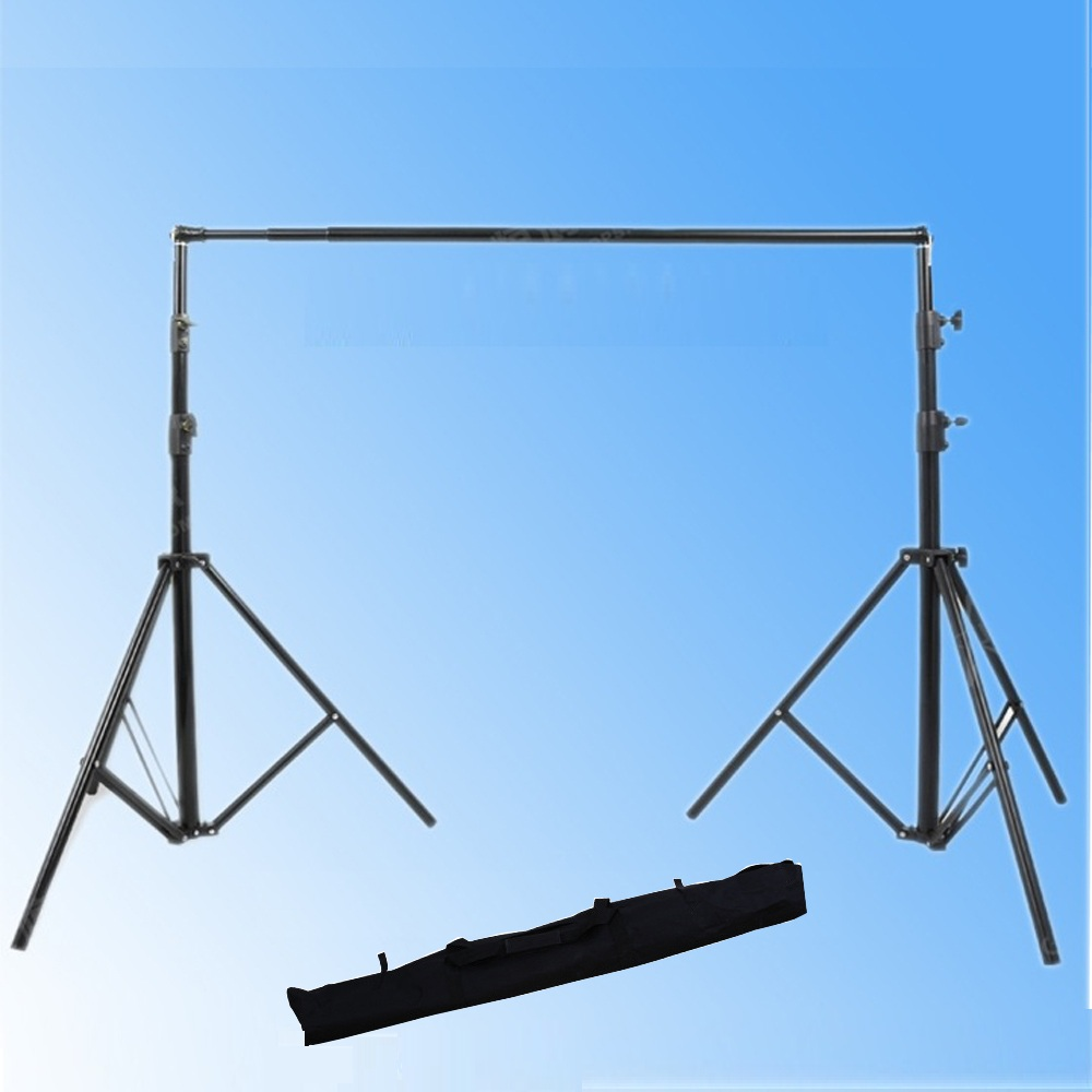 Background Stand Backdrop Support System Kit 11ft By 12ft Wide lightdow 2x3m 6 6ftx9 8ft adjustable backdrop stand crossbar kit set photography background support system for muslins backdrops