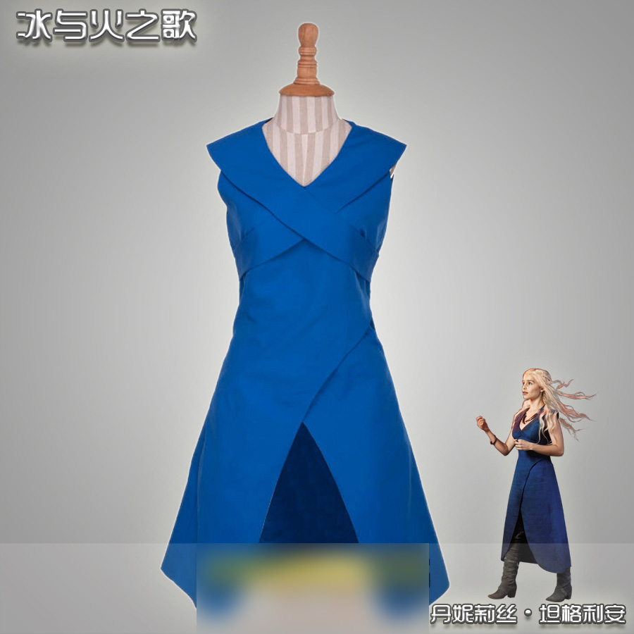 Mother of Dragons A Song of Ice and Fire/A Game of Thrones Dress Cosplay Costume Halloween Costume for women