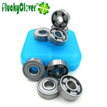 8pcs/lot 608 Silicon Nitride Si3N4 5 Ball  Skate bearings Abec11 Super Speed Skateboard bearing for penny board skateboards part