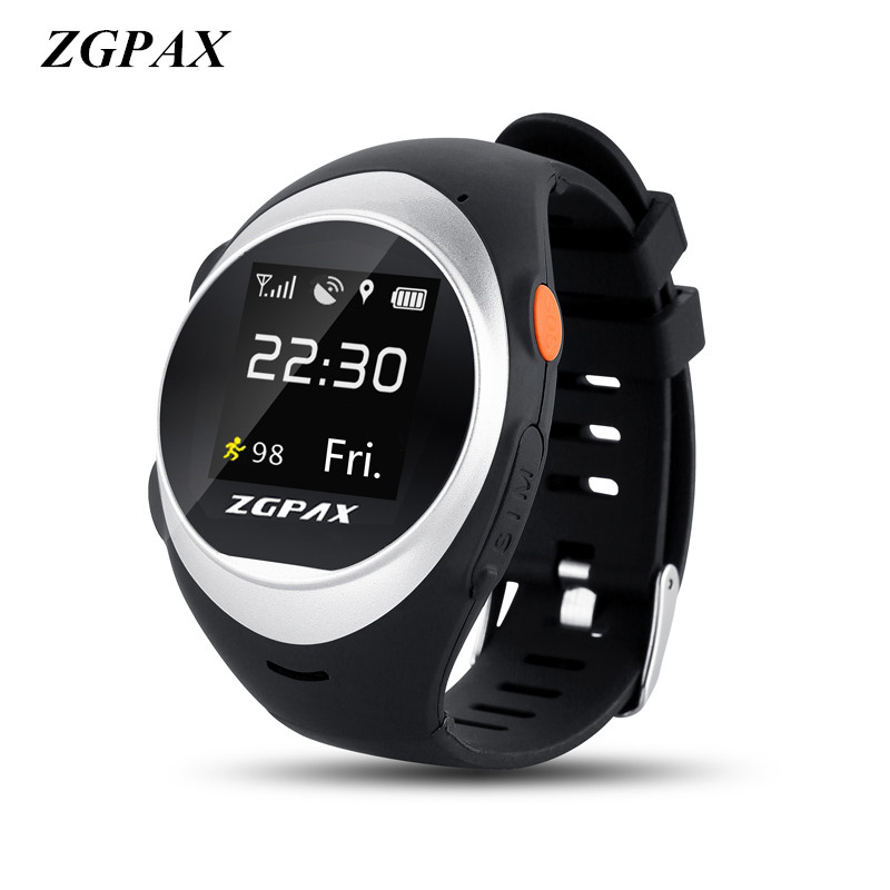 ZGPAX Smart Watch With SOS GPS Smartwatch S888 WIFI Anti Failing Alarm Tracker For Man Woman Kids Gift Freight freeZGPAX Smart Watch With SOS GPS Smartwatch S888 WIFI Anti Failing Alarm Tracker For Man Woman Kids Gift Freight free