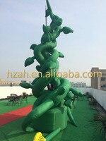 Mobilya'ten Mobilya Aksesuarları'de Dev Yeşil Şişme için Beanstalk Ağacı Sahne Dekorasyon