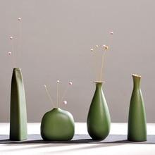 Modern fashion Home Furnishing, small handmade ceramic vases, flower, desk accessories, crafts, flower pot, flowerpot