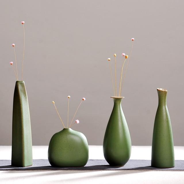 Modern Fashion Home Furnishing Small Handmade Chinese Ceramic Vases