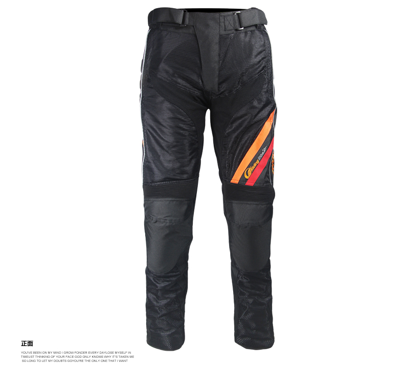 New model summer mesh sports pants/safety pants/ protective motorcycle racing trousers have protection r-1