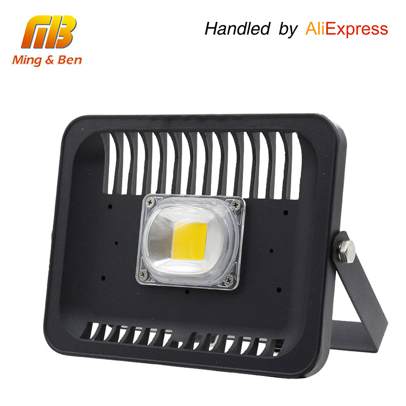MingBen LED Flood Light 30W 50W 100W AC 220V 240V IP66 Waterproof LED Flood Light