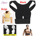 Adjustable Magnetic Posture Corrector Male Corset Back Belt Straightener Lumbar Brace Shoulder Braces & Supports for Men Women