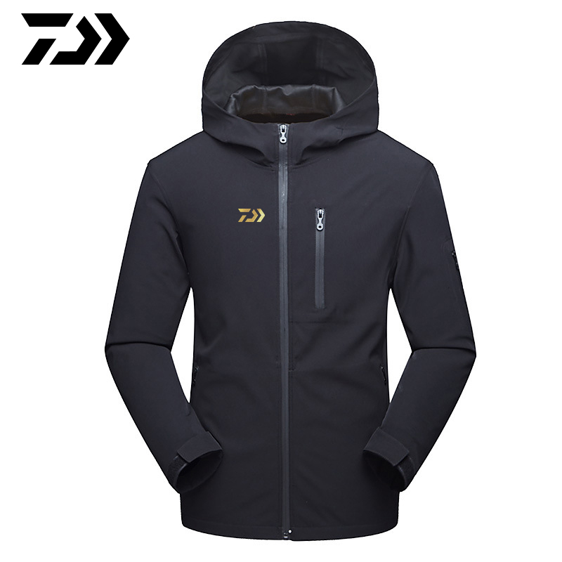 2019 Winter Windproof Fishing Jacket Ultra Thin UV Protection Clothes Keep Warm Windbreaker Fishing Coat Suits
