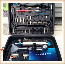 non-dismantle cleaner gasoline cars  injector cleaner & Tester equipment FSC-200  for MST-A360 Fuel injector