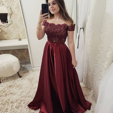 Bbonlinedress A Line Lace Prom Dress Sexy Illusion Beaded Evening Vestido de fiesta 2019 noche