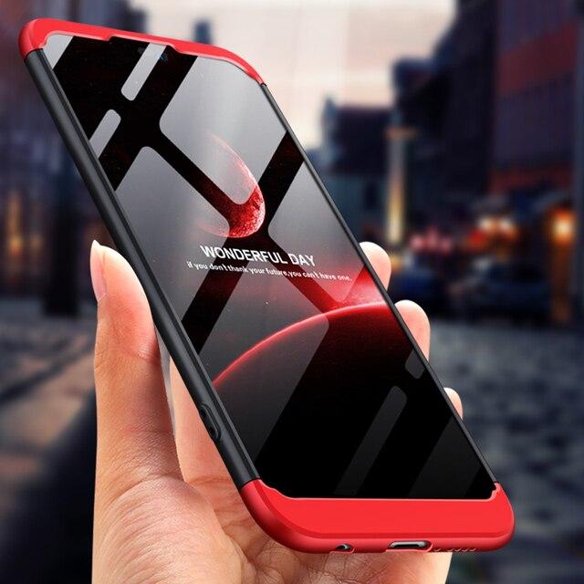 """Huawei Y9 2019 Case Y9 2019 Cover Luxury 360 Degree Full Cover Cases For Huawei Y9 2019 Y 9 Y92019 JKM LX1 JKM LX1 6.5"""""""