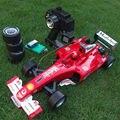 Deriva grande quatro passagens RC Carro de fórmula F1 clássico modelo de carro de brinquedo carro de controle remoto