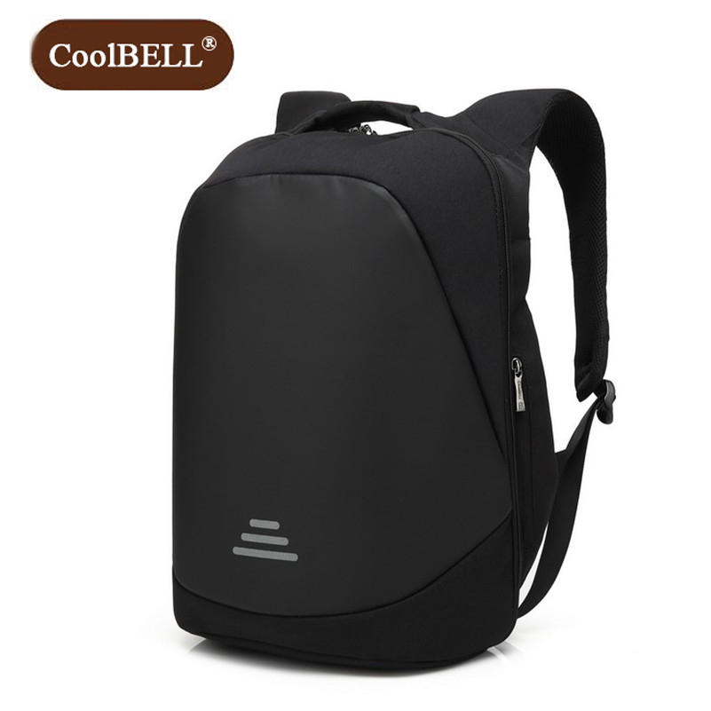 Cool Bell Business Men s and women s Waterproof Bag Anti theft Travel Backpack Leisure 15