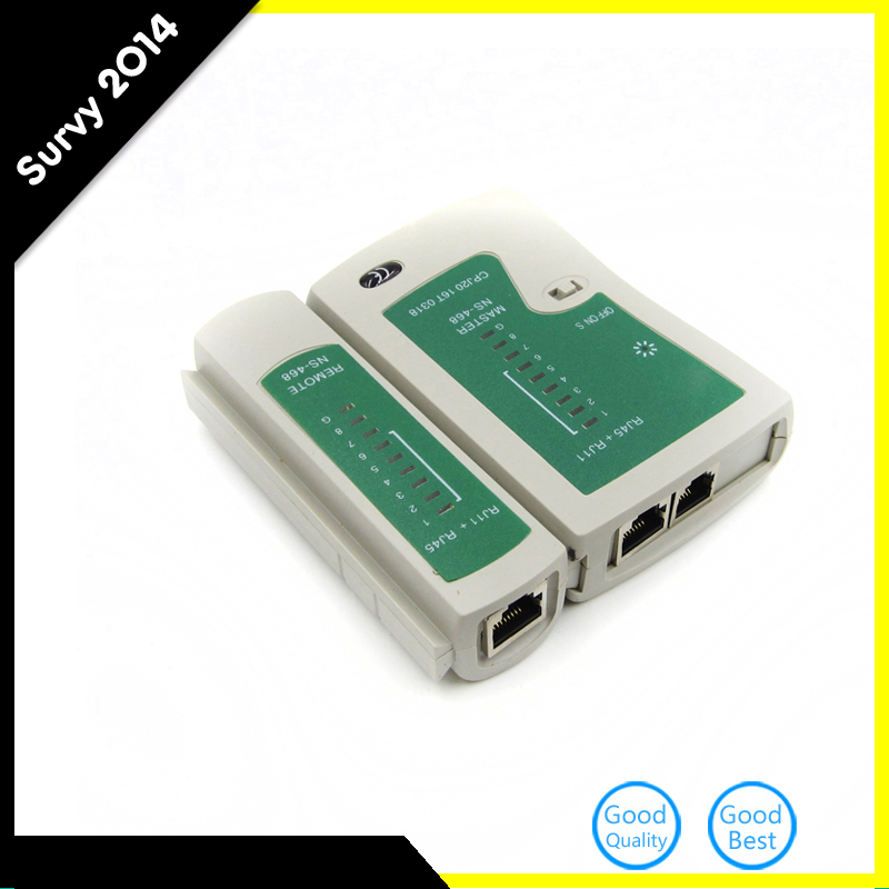 Professional RJ45 RJ11 RJ12 CAT5 UTP Network LAN USB Cable Tester Detector Remote Test Tools Networking Tool