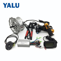 24V36V 250W Electric Bicycle Front Hub Wheel Conversion Kit With LCD display E bike Front Brushless Hub Motor Controller
