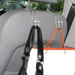 2 шт. крючок повесить пальто Бакалея мешок на заднем сиденье автомобиля авто подголовник Вешалка Организатор магазин 47