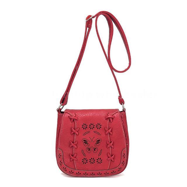 Women Leather Shoulder Bag Boho Purse Messenger Ladies Crossbody Handbag