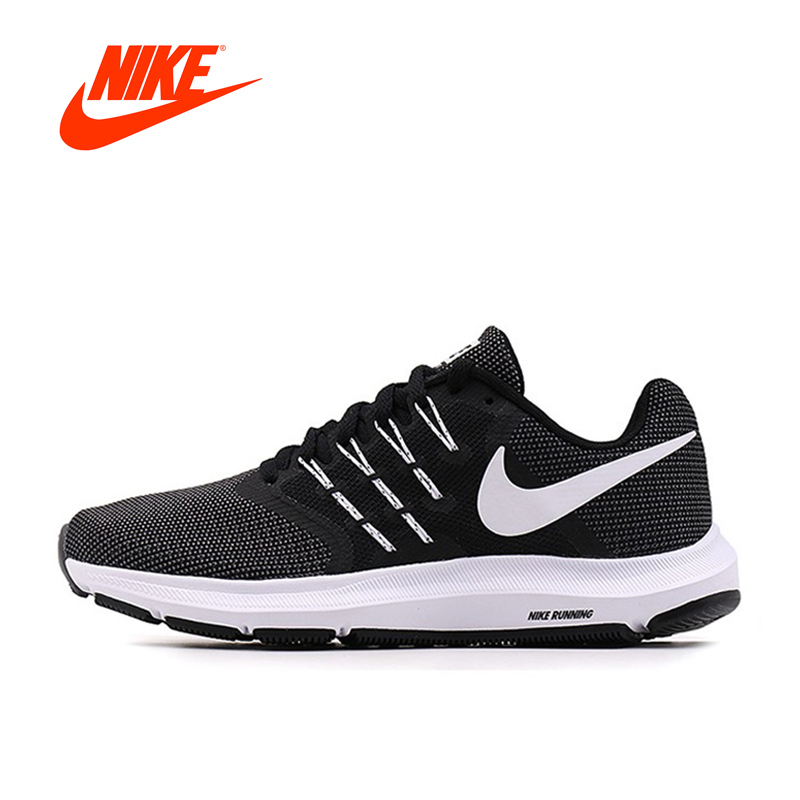 Original New Arrival Official Nike RUN SWIFT Men's Breathable Running Shoes Sports Sneakers pen pencil holder box full half pu leather case desk stationery organizer storage box desk accessories school