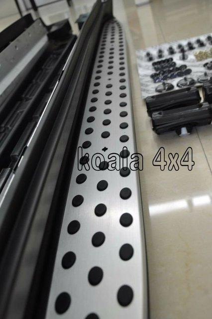 BENZ ML320/350 W164 OEM DESIGN RUNNING BOARD NERF BAR