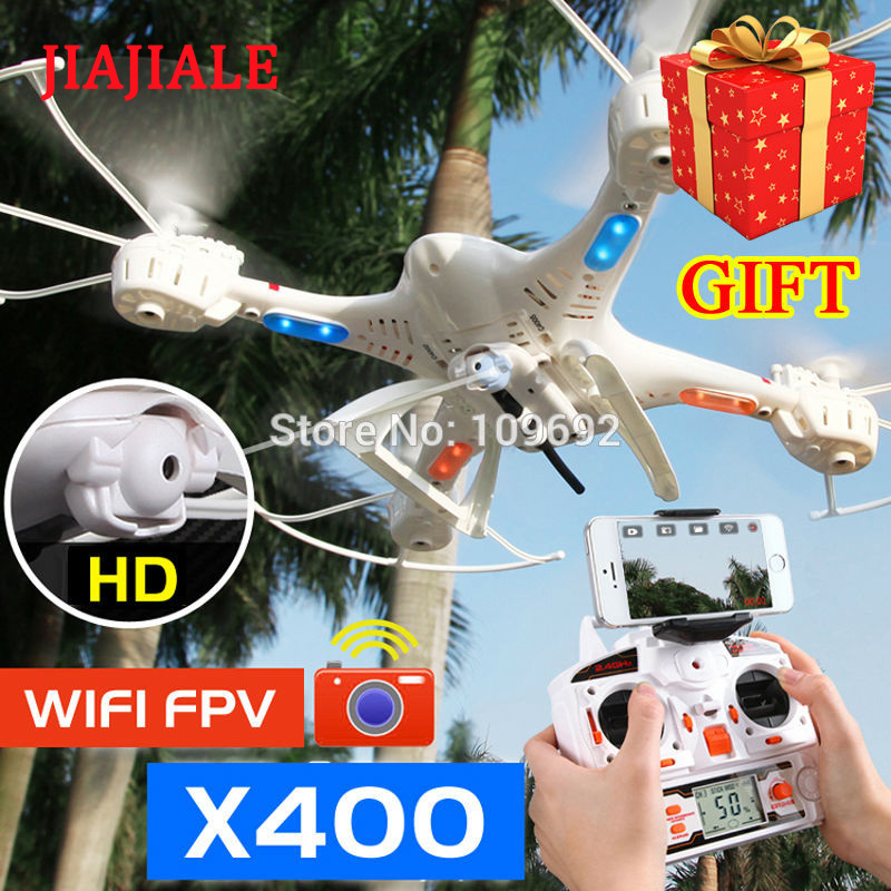 Free Shipping MJX X400 Upgrade X400-V2 RC Quadcopter 6-Axis Drones 2.4G Helicopters Can Add C4005 WIFI FPV HD Camera VS H8D X600