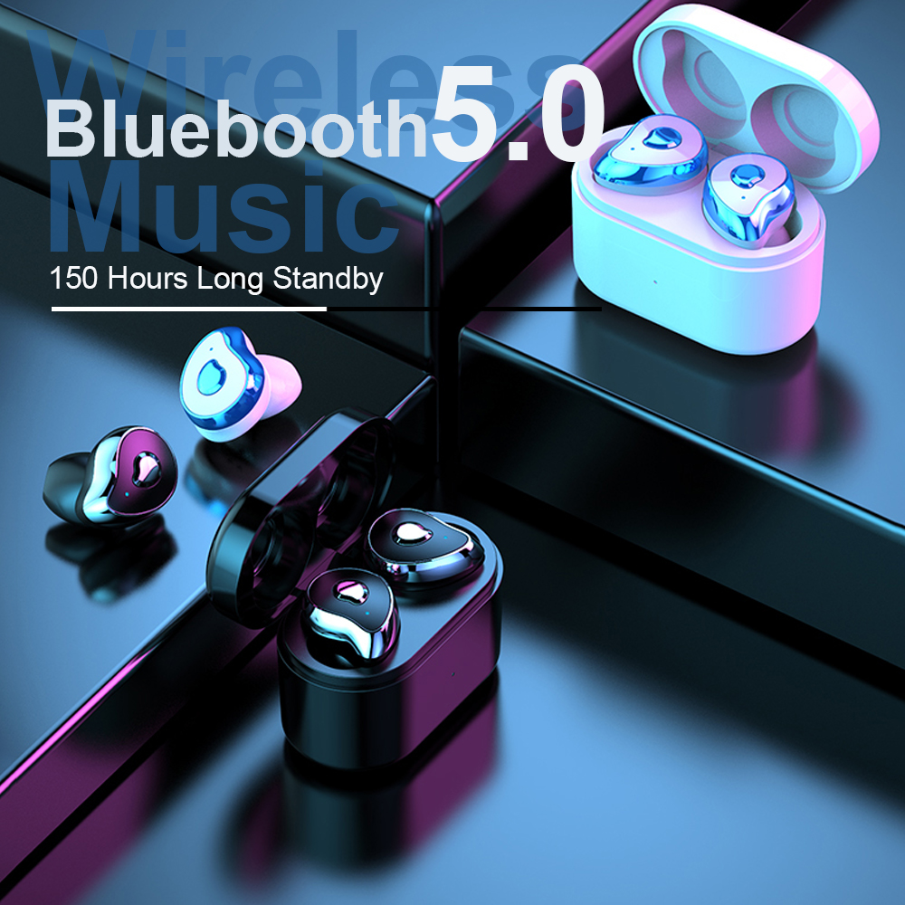 Bluetooth 5.0 Earphones TWS Wireless Sports Ear Waterproof Stereo Headphones Binaural With Charging Box For Samsung Galaxy Buds