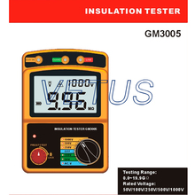 Cheaper GM3005 megger insulation tester of high accuracy