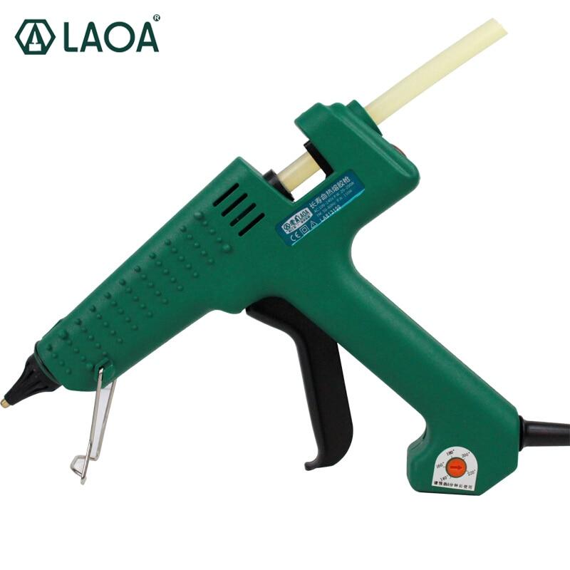 LAOA 150W Hot Melt Air Glue Gun For Metal Wood Working Stick Paper Hairpin PU Flowers