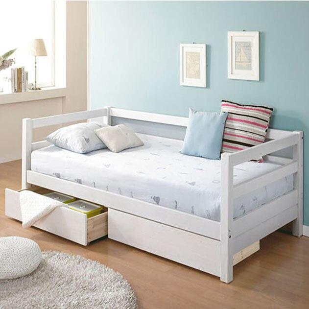 Einfache Holz Sofa Bett Kleine Wohnung Sofa Tagesbett Kind Der Bett