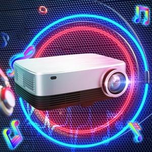 Image 5 - Мощный проектор 1280P Full HD, светодиодный проектор, Android 7,0, 4k, 1920*1280, для ноутбуков, для бизнеса и домашнего кинотеатра, проектор с ЖК экраном