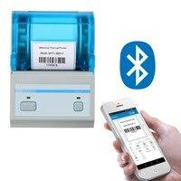 Mini Bar Code label Printer 2 inch Pos mini Label Printer Bluetooth Barcode Android Tablet Thermal label Printer|Printers|   -