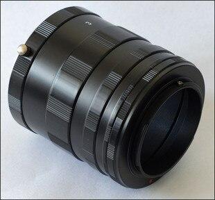 Tubo de extensión macro 3 Anillos para sny ILCE NEX e-mount nex3n nex5 nex5n nex7 nex6 nex5t nex5r a5100 a5000 a6000 a3000 nex-vg10