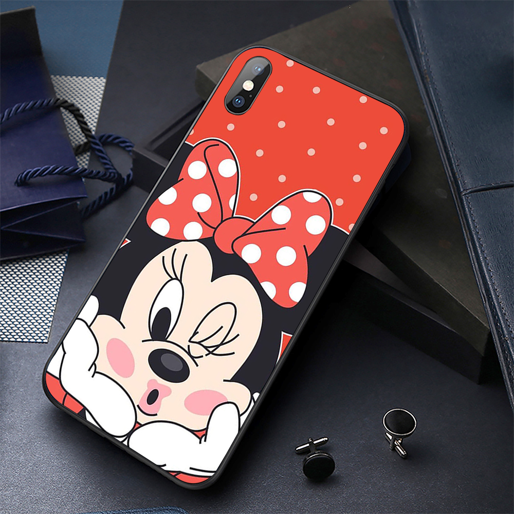 Soft Case UV Printed Phone Case for iPhone x xr xs max 6s 6Plus 5s 5 SE 7 8 Plus Black TPU Phone Cover Cases Shell in Fitted Cases from Cellphones Telecommunications