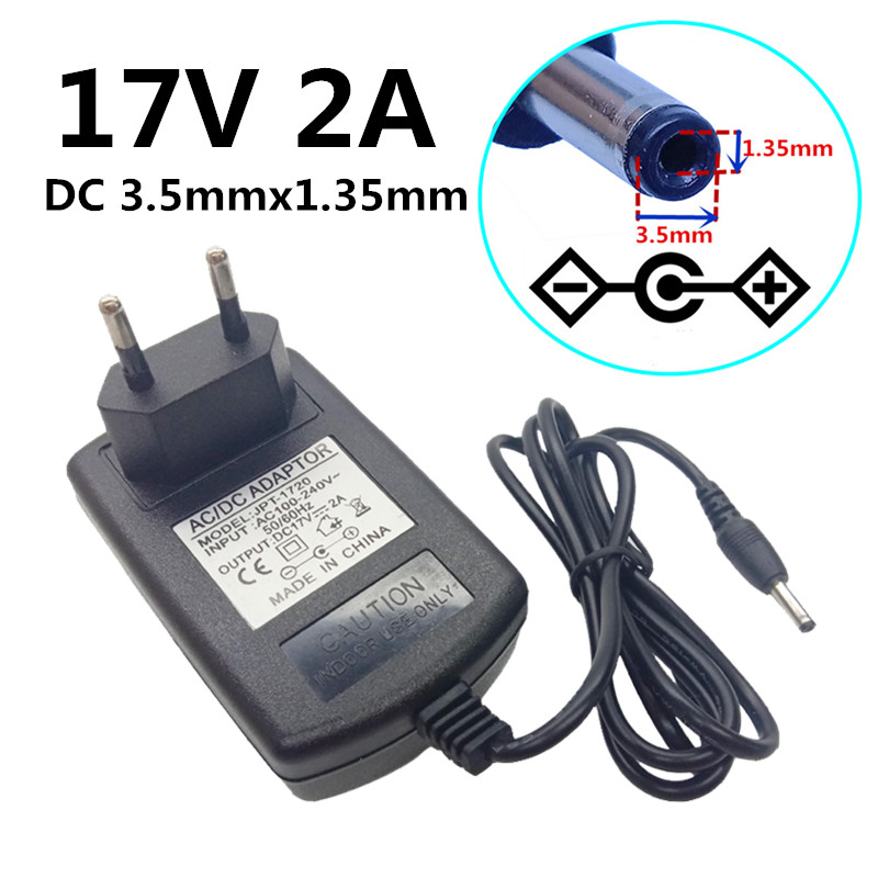 Pro 3.5*1.35mm Round Pin Wall Charger For 18650 Li-Ion Flashlight DC 5V US Plug