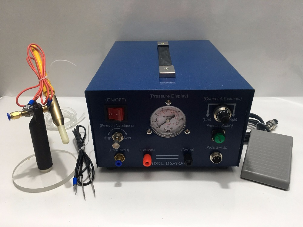 Pulse Argon Spot Welder 400W Welding Jewelry Gold Silver Platinum Palladium jewelry tools and equipment nickel palladium and platinum