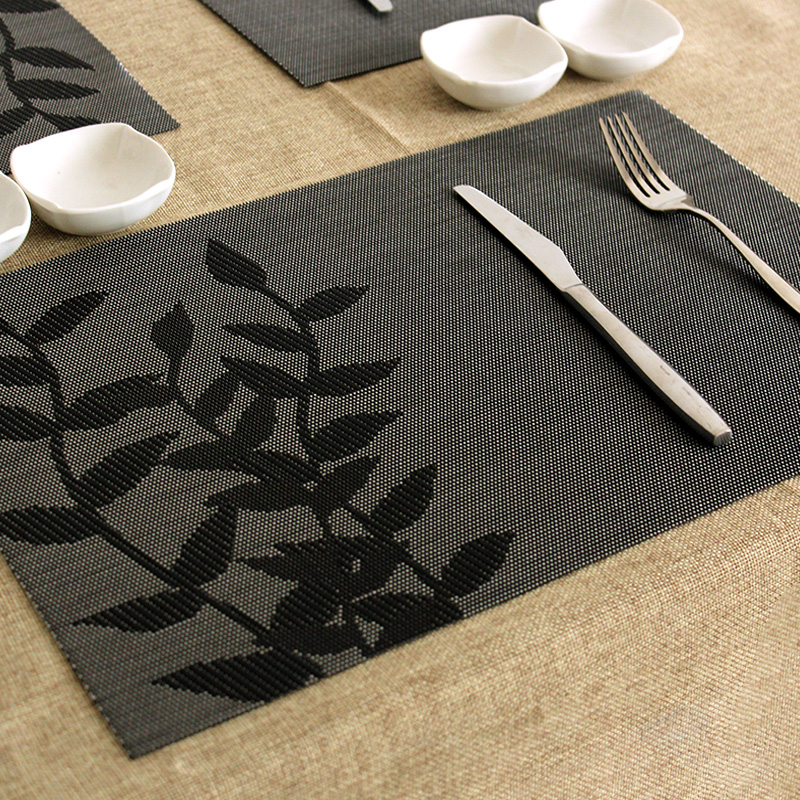 Pat Mat Heat Insulation Placemat Dining Table Pad Fashion Plastic Disc Pads Bowl Free Shipping