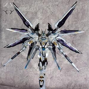Image 5 - COMIC CLUB IN STOCK metalclub metalgear metal build MB Gundam strike freedom white color high quality action figure