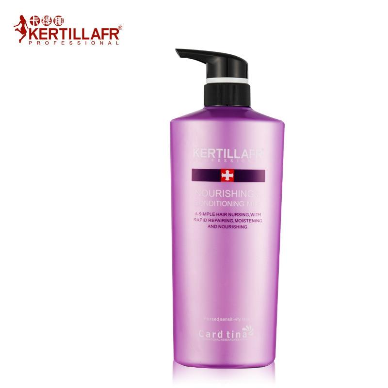 ФОТО KERTILLA FR  collagen Smooth silky hair conditioner For Damaged Hair Keratin Hair Care Anti Hair Loss Repairs Dry 768ml 1PCS