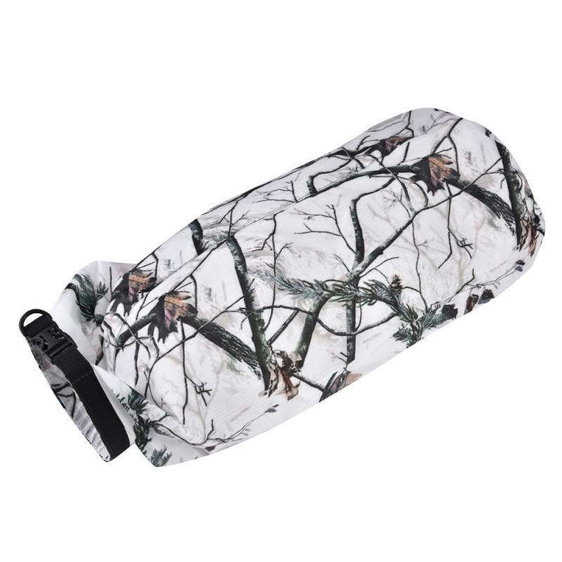 Outdoor 15L Foldable Waterproof Dry Bags Water Sports Bags Beach Drafting Rafting Surfing Storage Dry Pack With Buckle