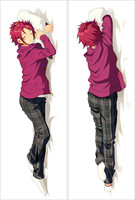 Anime Pillow Case Hugging Body 150*50 New Peach skin SM1654a ensemble stars