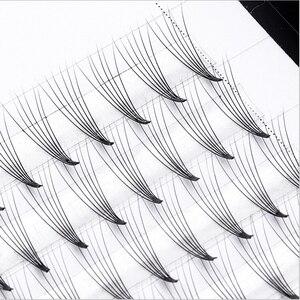 Image 5 - Premade cilt kirpik hayranları 3D 4D 5D 6D ses hayranları uzatma profesyonel Cils hacim kirpik rus hacmi kirpik uzantıları