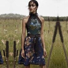 2018 A ラインミニドレス 高品質滑走デザイナーの女性のドレス