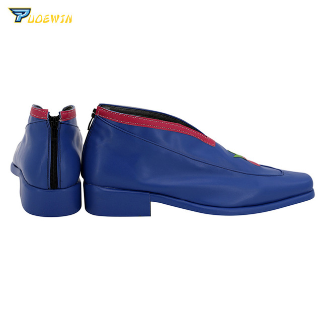 JoJo's Bizarre Adventure Golden Wind Pannacotta Fugo Cosplay Shoes Boots Custom Made 3