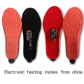1800mAh Heating Insoles  EUR Size 35-40# Winter Shoes Boots Pad Wireless Remote Control  Battery Powered