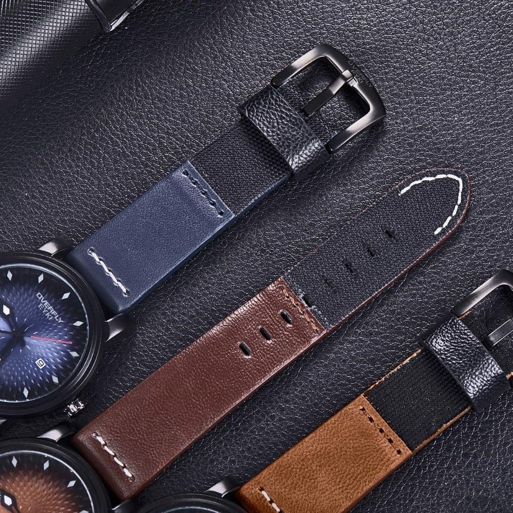 EYKI Niebieski bransoletka Zegarek biżuteria Luksusowy biznes Prosty - Męskie zegarki - Zdjęcie 6