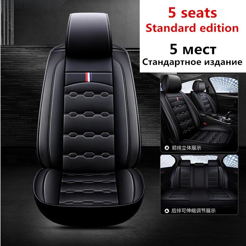 Auto Universale di Corsa Sedile Coperture Auto Interni Sedile Fodere per Cuscini Sedile Pad per Benz Benz a B C D E S serie Vito Honda Civic - 4